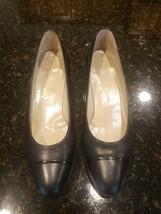 Salvatore Ferragamo Shoes 7.5 AA Leather black 7.5 A2 Italy - $45.00