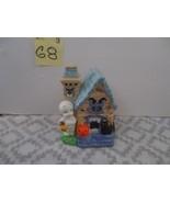 Casper Friendly Ghost United Siher Gudery Ceramic Halloween  house - $9.99