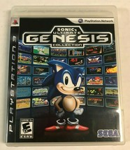 Sonic's Ultimate Genesis Collection (Sony PlayStation 3, 2009) PS3 Game Complete - $13.99