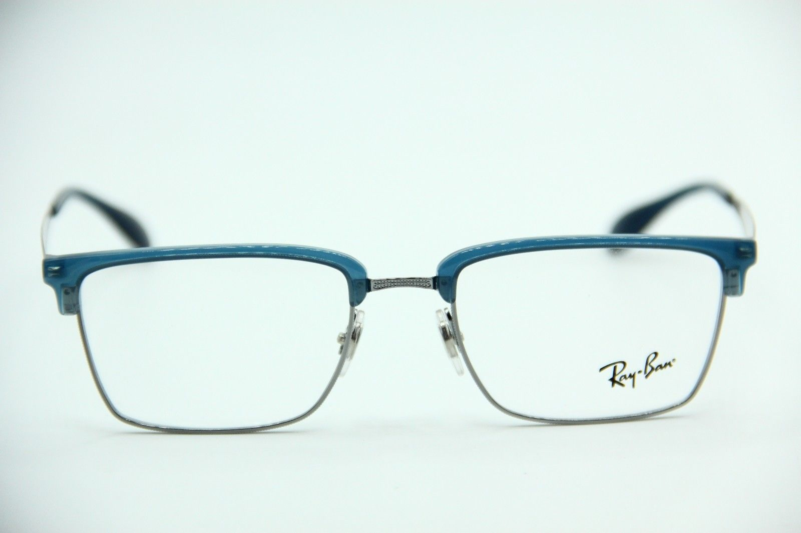 d1d4f39881 NEW RAY-BAN RB 6397 2934 BLUE EYEGLASSES AUTHENTIC RX RB6397 52-19