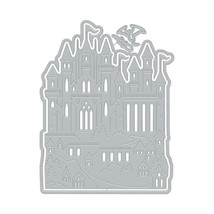 Hero Arts Paper Layering Castle Fancy Die #D1682 - PERFECT FOR CARD MAKING!