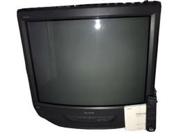 """Vtg 90s Sony Trinitron KV-32S66 32"""" CRT Television Retro Gaming TV + Remote - $197.01"""