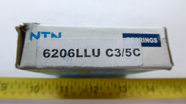 NTN 6206LLU C3/5C Sealed Roller Bearing New image 5