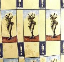 Robert Talbott Roger Stevens Mens Tie 57 Inches Hand Sewn Silk Golfer & ... - $26.68