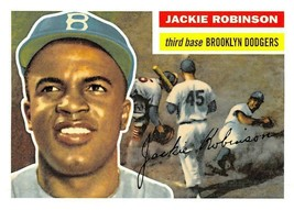 2010 Topps Cards Your Mom Threw Out #CMT121 Jackie Robinson > 1956 > Dod... - $0.99