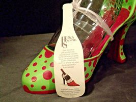 HS High Spirits Shoe and Bottle Display AA-191736  Vintage Collectible image 4