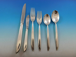 Silver Rhythm by International Sterling Silver Flatware Set Service 41 Pieces - $1,950.00