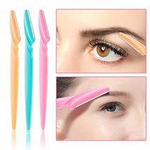 Eyebrow Razor, CGBOOM 24 Pieces Facial Razor Eyebrow Shaper for Women and Men, S image 4