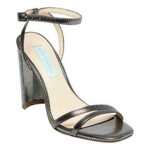 Blue By Betsey Johnson Slingback Ankle Strap Sandals Mady Size US 7.5 Silver - $39.94