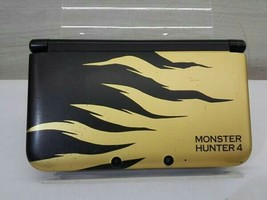 Nintendo 3DS LL console only Monster Hunter Rajan Gold (SPRSDLAB) JAPAN - $119.20