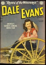 DALE EVANS #6-PHOTO COVER-DC-TOTH WESTERN ART 1949 VF- - $200.06