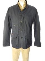POLO RALPH LAUREN MEN'S JACKET OIL CLOTH COTTON LEATHER TRIM SZ XL NWT $395 - $223.17