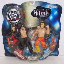 "2002 Jakk's WWE Rigside Rivals ""Undertaker"" vs ""Hogan"" Action Figure Set... - $79.19"