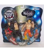 "2002 Jakk's WWE Rigside Rivals ""Undertaker"" vs ""Hogan"" Action Figure Set... - $79.19"