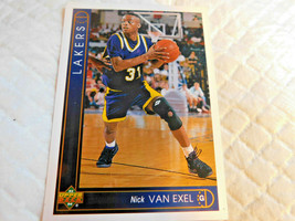 1993 Upper Deck,Los Angeles Lakers,Basketball-#162-(Nick VAN EXEL) - $4.95