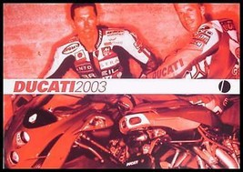 2003 Ducati Prestige Motorcycle Brochure- Full line 999 998 748 749 1000... - $7.97