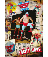 POSTER:MOVIE REPRO: NICKELODEON'S NACHO LIBRE - RING #8742 LP56 Q c - $18.00