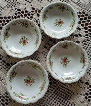 "Johann Haviland ~ Moss Rose ~ Set of 4 ~ 5.25"" Dessert Bowls ~ Bavaria Germany~2 - $40.00"