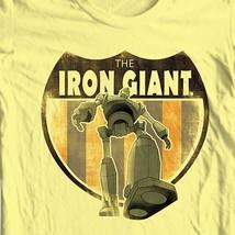 The Iron Giant T-shirt retro nostalgic animated movie cartoon film tee WBM216 image 1