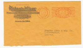 RICHARDS-WILCOX MANUFACTURING CO. AURORA ILL APR 4 1931 - $1.78