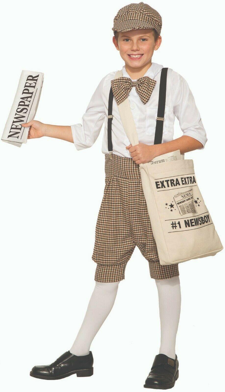 Forum Neuheiten Zeitungen Junge Gatsby 1920s Kinder Halloween Kostüm 83377 - $20.88