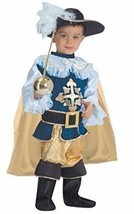 Deluxe Musketeer Toddler Costume Size 2T 1-2 yrs. - £19.75 GBP