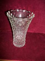 VINTAGE Fostoria American CLEAR flared vase 7.5... - $21.77