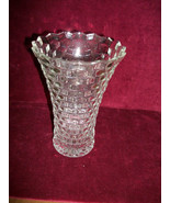 VINTAGE Fostoria American CLEAR flared vase 7.5... - $21.77