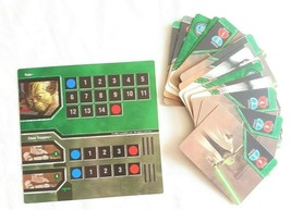 Star Wars Epic Duels Game Replacement (31) Yoda + Clones Cards Character... - $6.30