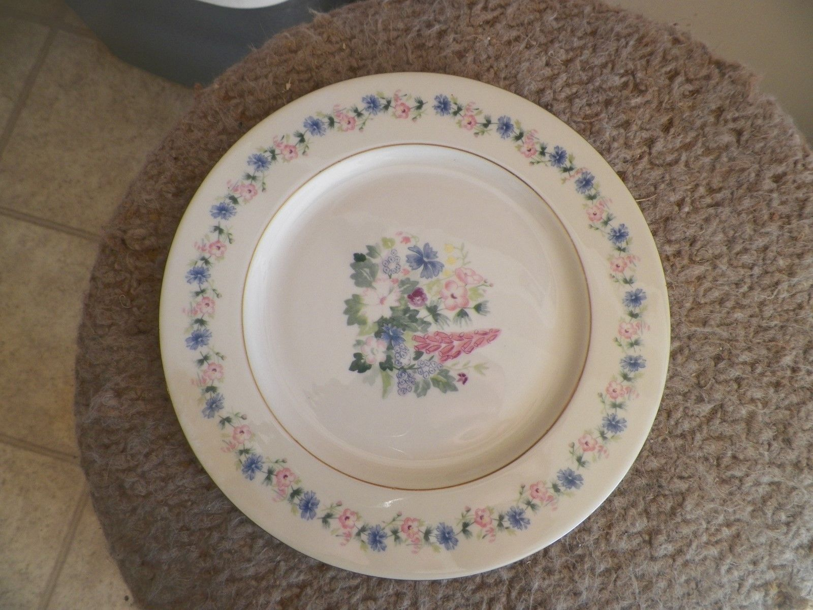 Theodore Haviland Fox Glove luncheon plate 2 available - $18.27