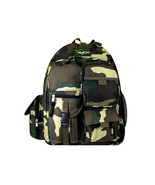 GREEN  Camoflauge Backpack School Pack Bag NEW  Camo 202 Free Shipping H... - $22.99