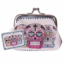 Mini Coin Purse - Candy Skull Day of the Dead - $4.51