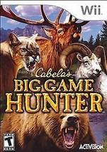 Cabela's Big Game Hunter  (Wii, 2007) - $3.00