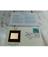 Killer Whale 22kt Golden Replica Stamp 1990 First Day Stamp  - $19.79