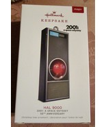 HALLMARK 2018 MAGIC 2001 A SPACE ODYSSEY HAL 9000 ANNIVERSARY SOUND LIGHTS NIB - $25.95