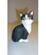 MIX LOT CATS KITTENS PORCELAIN HANDCRAFTED WOOD FIGURINE - $25.49