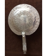 Butlers  Crumbs Ashes Maid Servant Lidded Trade Contential  Hand Wrought... - $30.00
