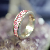 Pink Magick Ring for Peace & Serenity Washes Away Worry! Calming Energy!... - $99.99