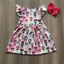 Toddler baby girls flora rainbow dresses - $14.99