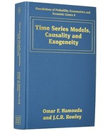 Time Series Models, Causality and Exogeneity (Foundations of Probability... - $220.36