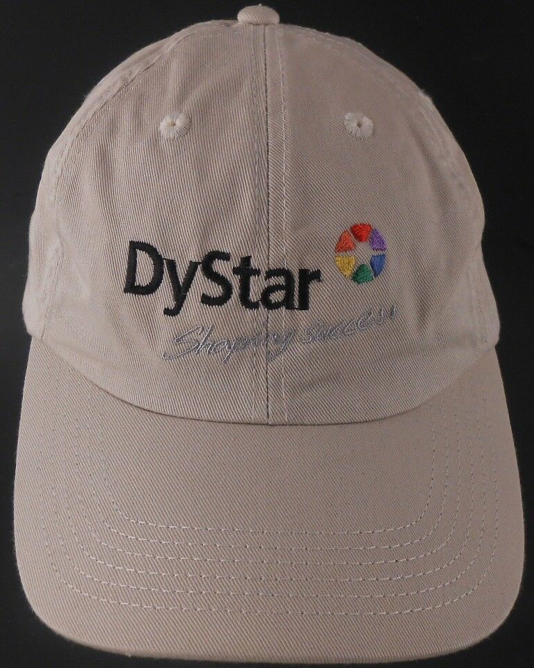 Dystar Shaping Success Textile Dyes Made in USA Strapback Cap Hat