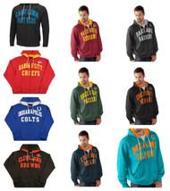 NFL Men's Pass Attempt Hoodie Full Zip Hooded Sweatshirt Football Licensed NEW