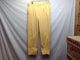 Ben Silver Charleston Mustard Yellow Cuffed Pants