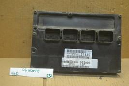 2006 Chrysler Sebring Engine Control Unit ECU P05094318AD Module 252-9b5 - $55.99