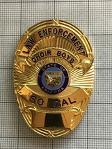Arizona SO CAL Law Enforment Police Motorcycle Club Badge Choir Boys - $150.00