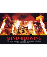"KISS Band ""24 x 36"" 1977-78 ""MIND BLOWING"" Full Stage Shot Reproduction ... - $45.00"
