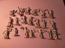 Twenty Miniature Figures - Unpainted  - $10.88
