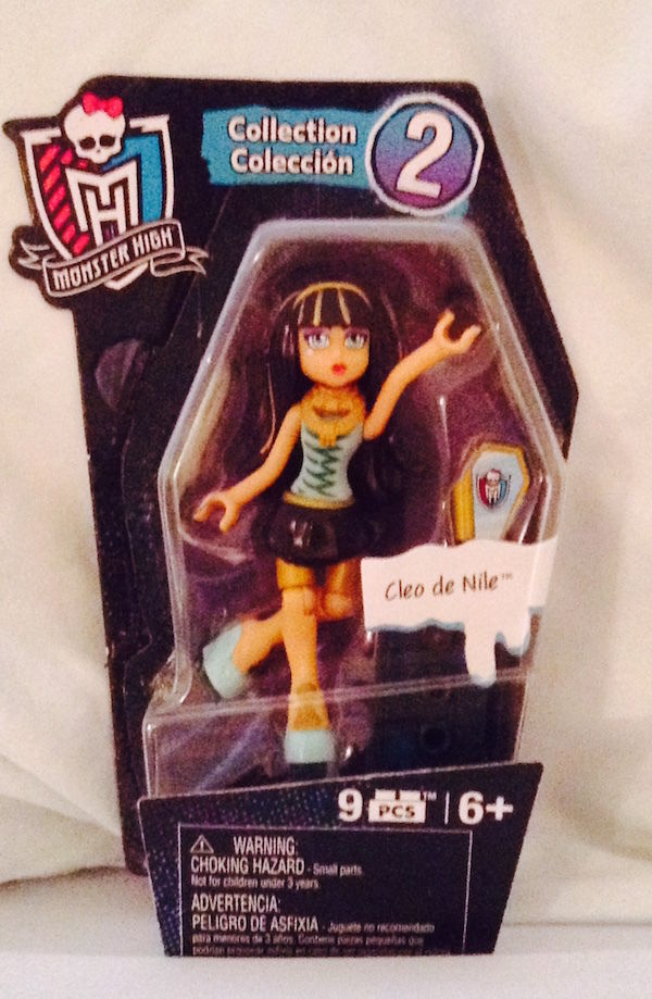 NIP Monster High Mega Bloks Ghouls Mini figures CLEO de NILE