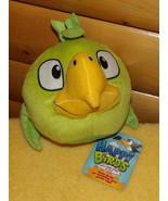 "National Entertainment Network Plush 7"" Green Bird - Angry Birds Happier... - $6.99"