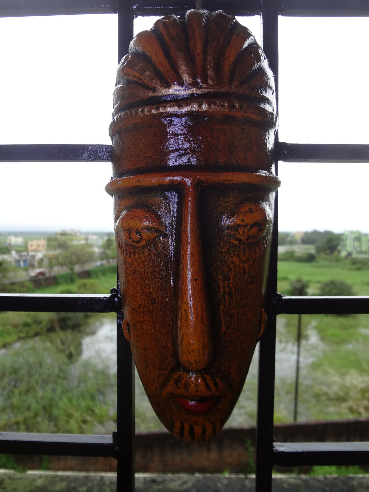 Hand Carved Tribal Mask Wall And 50 Similar Items